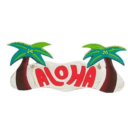 Hawaii Cartel Welcome Aloha Tiki Bar placa para puerta ...
