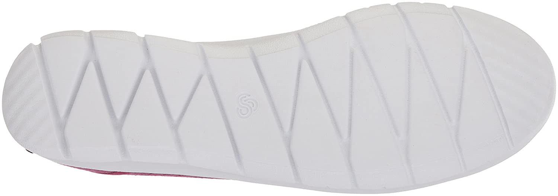 CLARKS Women's Step Fuchsia Allenabay Sneaker B07852Z27V 95 W US Deep Fuchsia Step Heathered Fabric 29e481