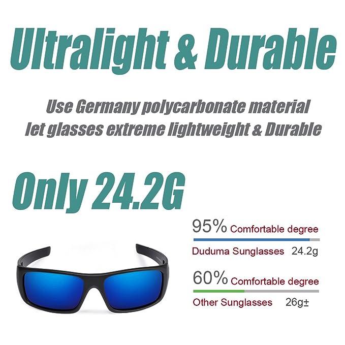 Amazon.com: Anteojos de sol Duduma Tr601 deportivos y ...