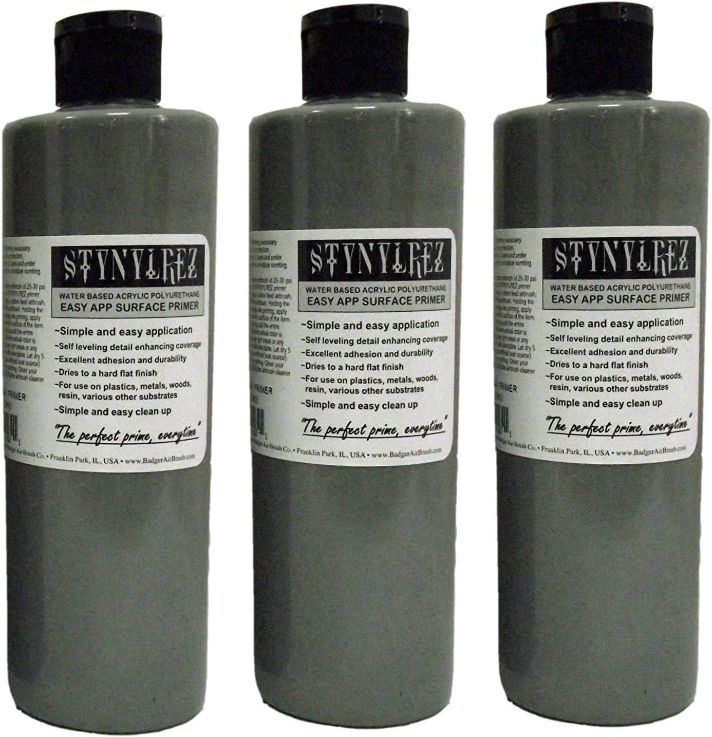 Badger Air-Brush Co. SNR-162 STYNYLREZ, 16 Ounce, Gray hr P ck