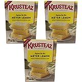 Krusteaz, Lemon Bars Mix, 19.35oz Box (Pack of 3)