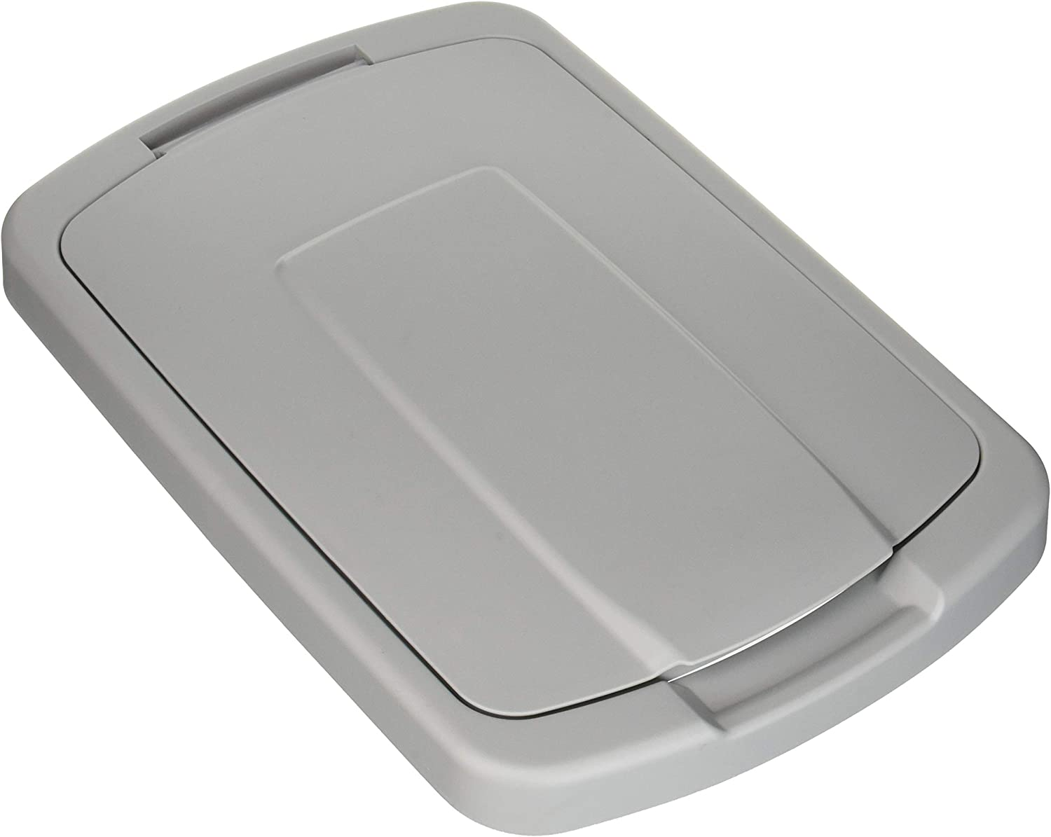 Knape & Vogt QT35LB-PT Trash Can Lid, 1.31-Inch by 14.5-Inch by 9.56-Inch