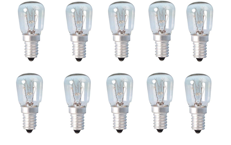 10 bombitas para lámparas de sal del Himalaya, para heladera ...