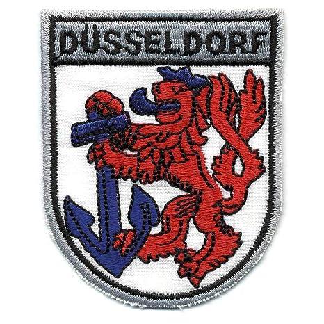 Aufnaher Wappen Dusseldorf 04012 Gr Ca 6 5 X 8 Cm Patches Stick Applikation