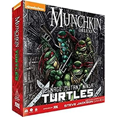 IDW Games Teenage Mutant Ninja Turtles Munchkin Card Game: Toys & Games [5Bkhe0402843]