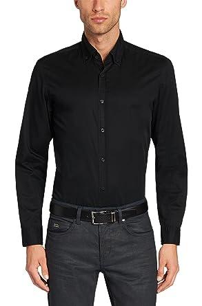 f8596a18 Amazon.com: Hugo Boss Leonard_E Dress Shirt, Navy: Clothing