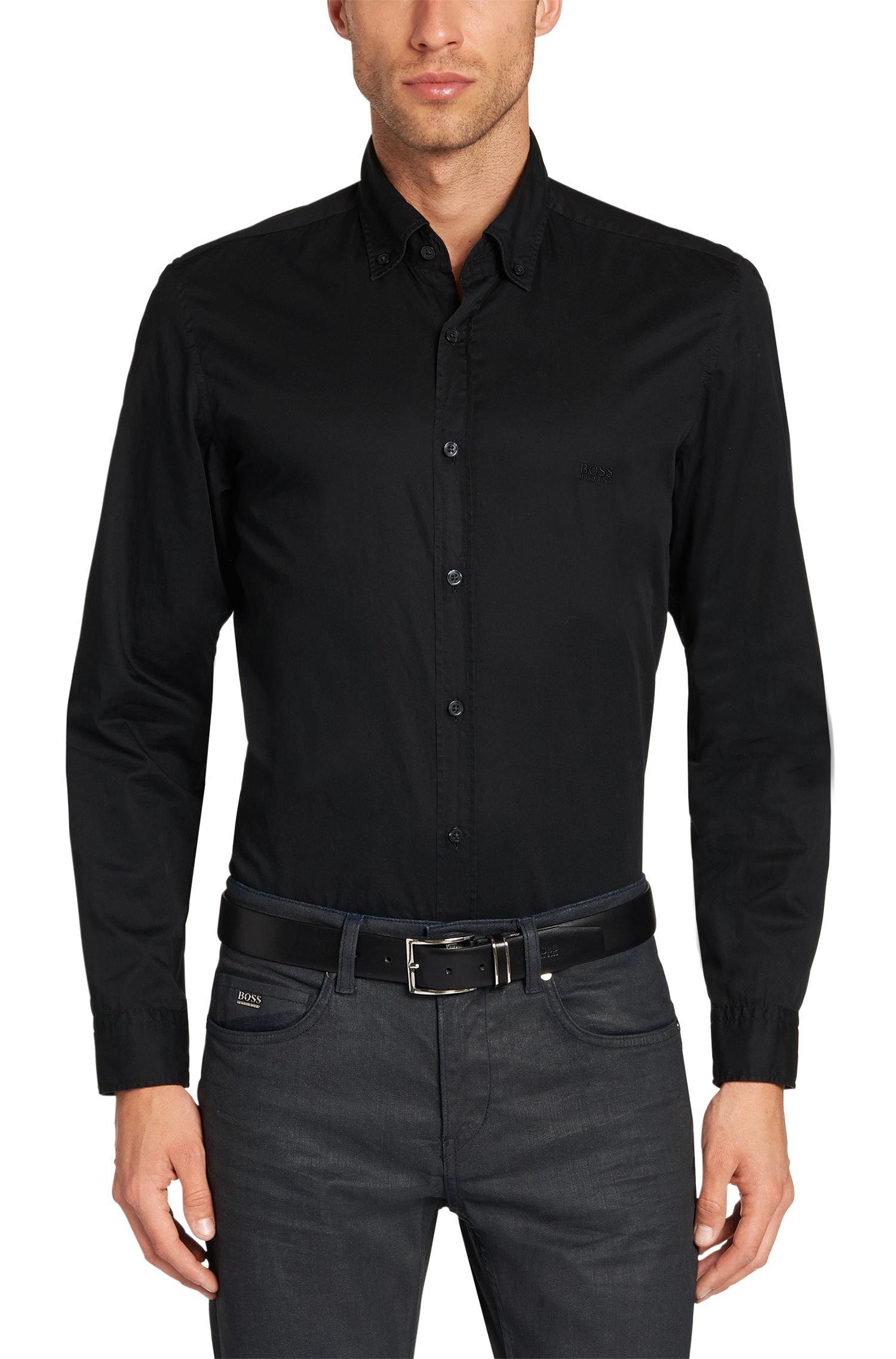 Hugo Boss Leonard_E Dress Shirt, Black