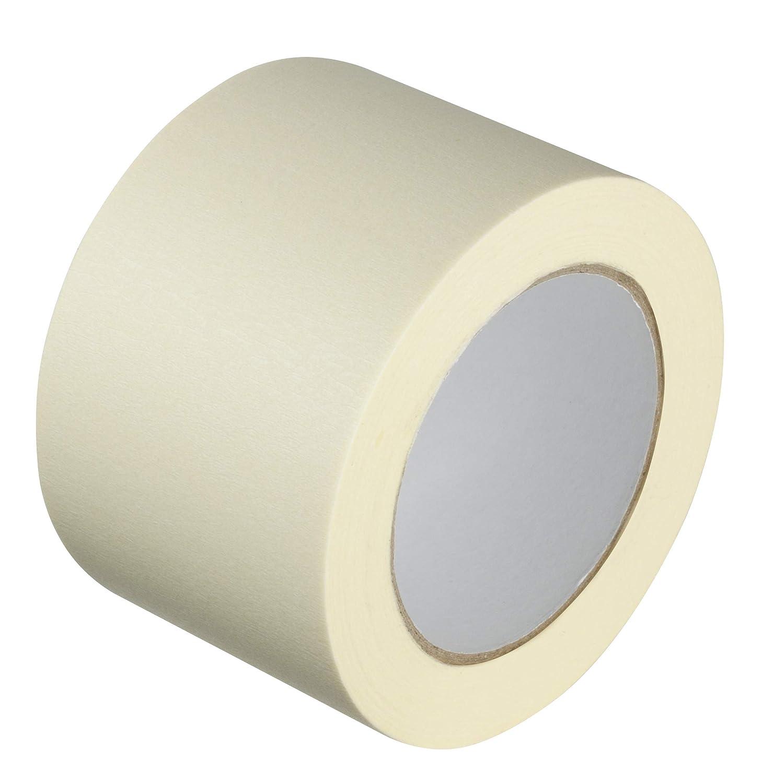 GTSE 1 Rolle Premium Breites Abdeckband zum Malen und Dekorieren stark klebend 75 mm x 50 m