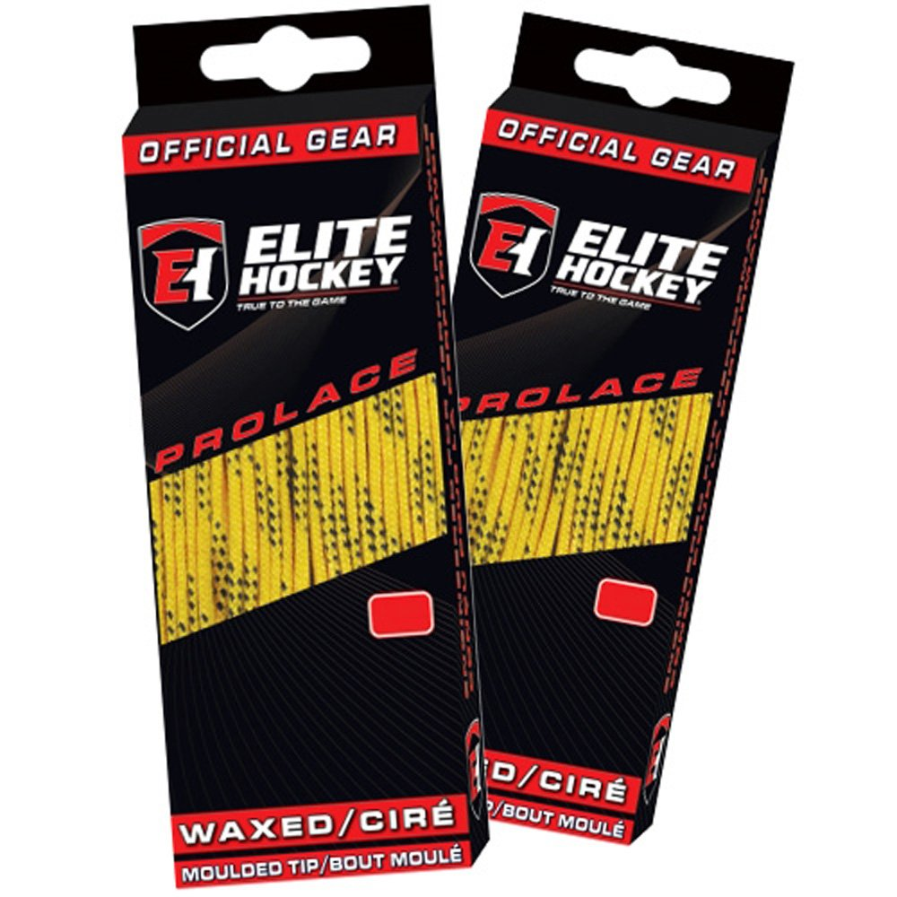Set of 2 Pairs Elite Hockey Prolace Waxed Hockey Skate Laces