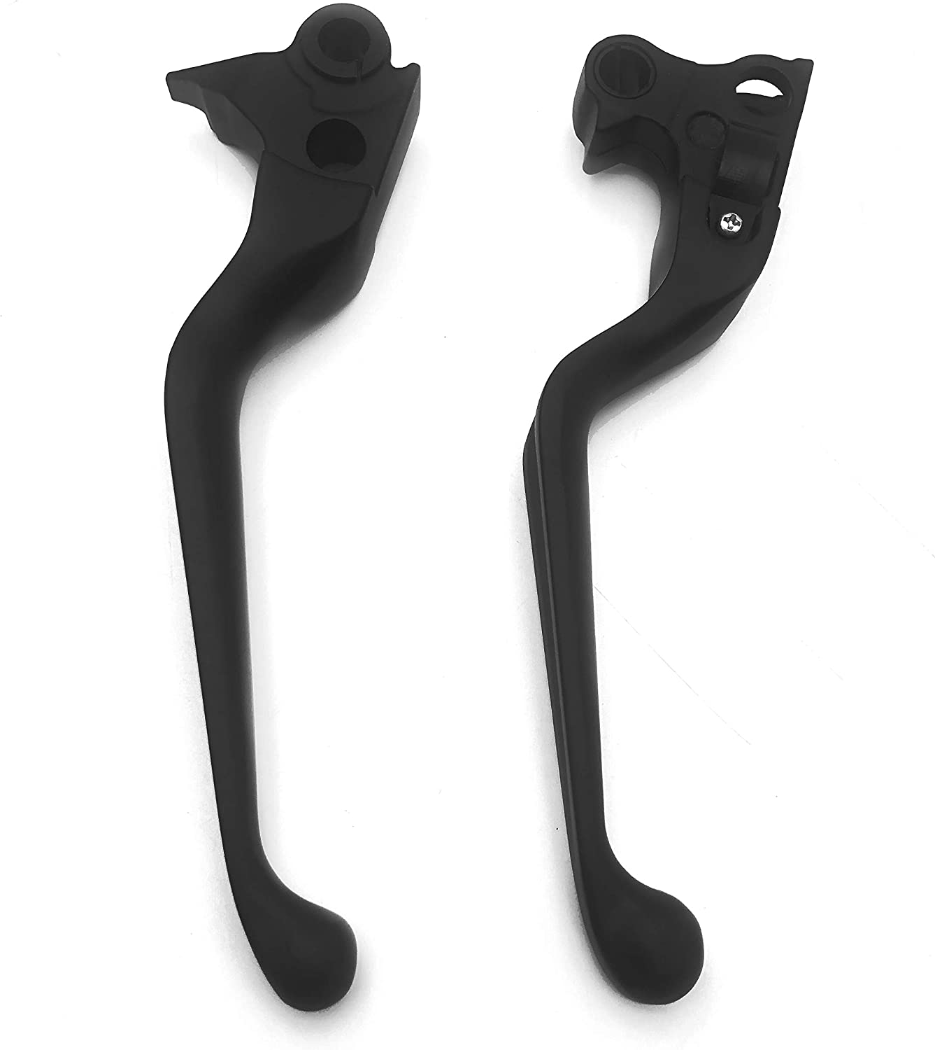 HTTMT MT241-027 Motorcycle Parts Chromed Brake Clutch Hand Levers Compatible with 1996-2003 XL//1996-2007 Dyna Touring// 1996-2007 Softail //2011-2014 Softail models