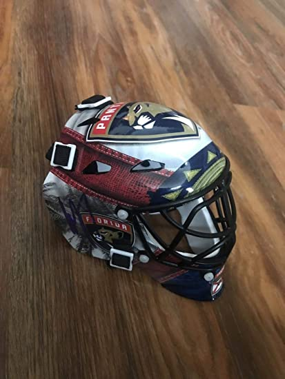 los angeles b2d8b 03038 Amazon.com: Roberto Luongo Autographed Signed Florida ...