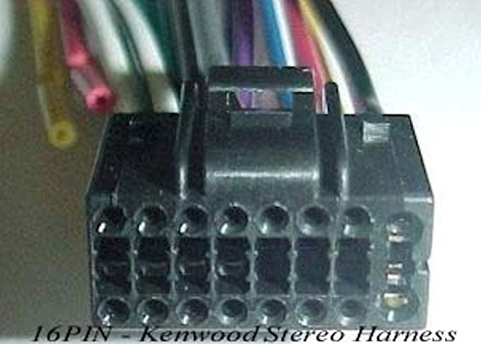 Kenwood Wire Harness KDC-358U KDC-BT558U KDC-BT710HD KDC-BT758HD KDC-HD458U on