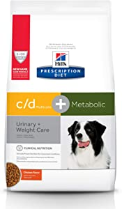 Hill's Prescription Diet Metabolic + Urinary, Weight + Urinary Care Chicken Flavor Dry Dog Food