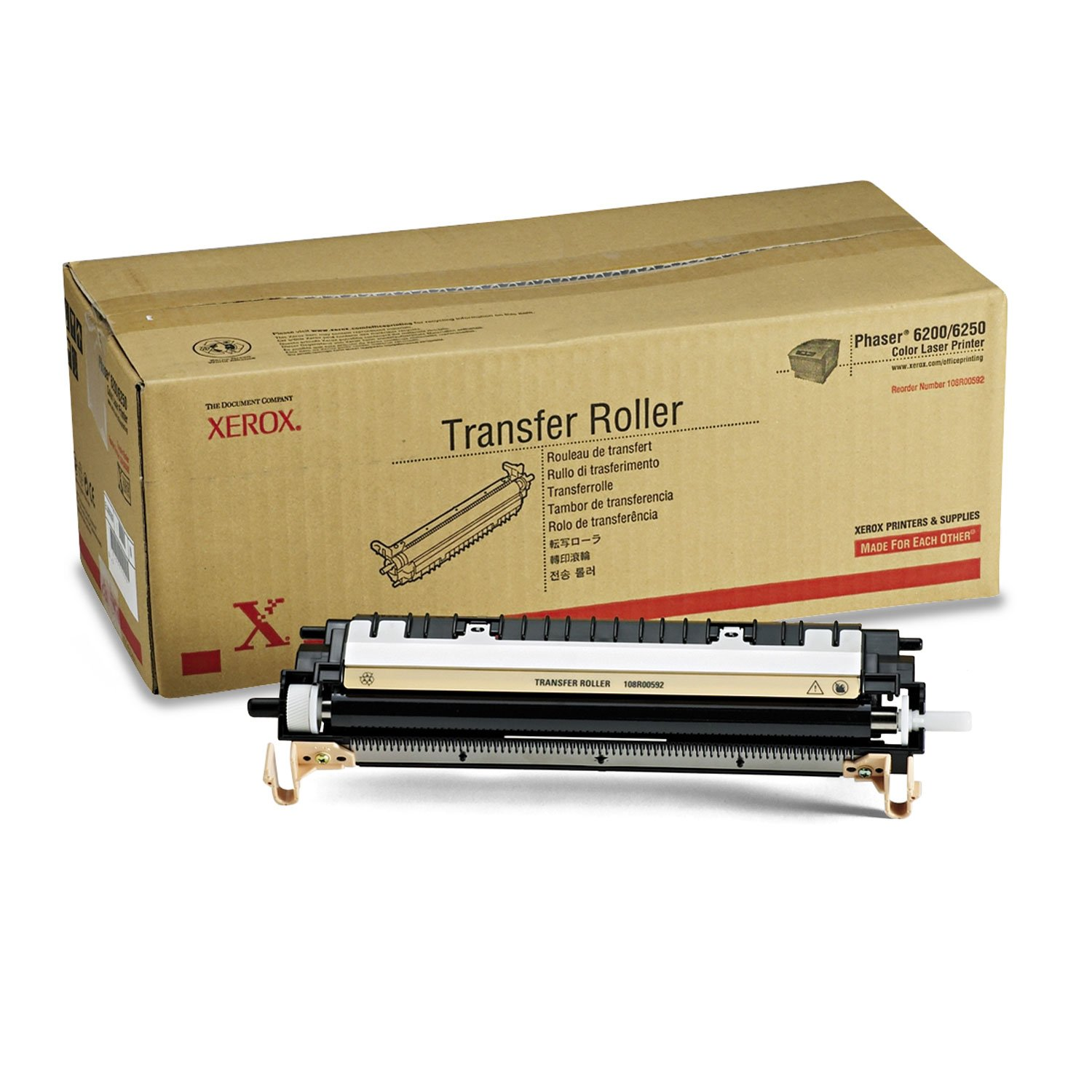 XER108R00592 Xerox Transfer Roller for Phaser 6200 and 6250 color Printer