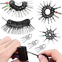 Coche Terminal Eliminación Kit 76 piezas Terminal Extracción Herramientas extractor de pines juego de herramientas de…