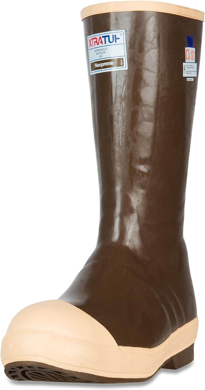 Copper /& Tan 22292G XTRATUF Legacy 2.0 Series 15 Neoprene Composite Toe Mens Fishing Boots