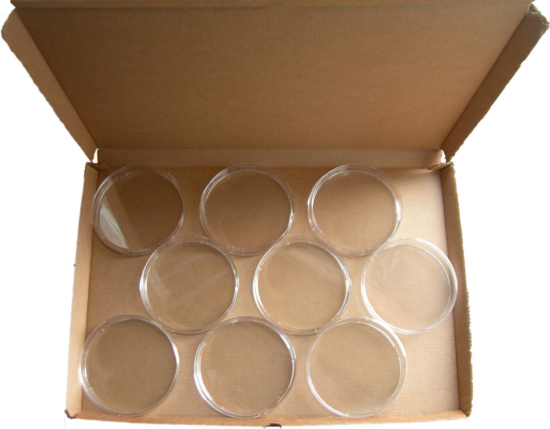 SEM17 Petri Dish Plastique Boîte de Pétri Ronde 90mmx15mm x9