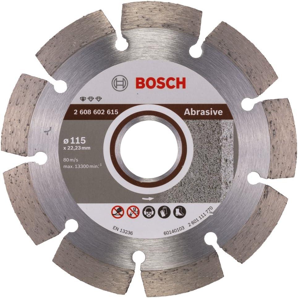 Bosch 2608602615 Disque /à tron/çonner diamant/é standard for abrasive 115 x 22,23 x 6 x 7 mm
