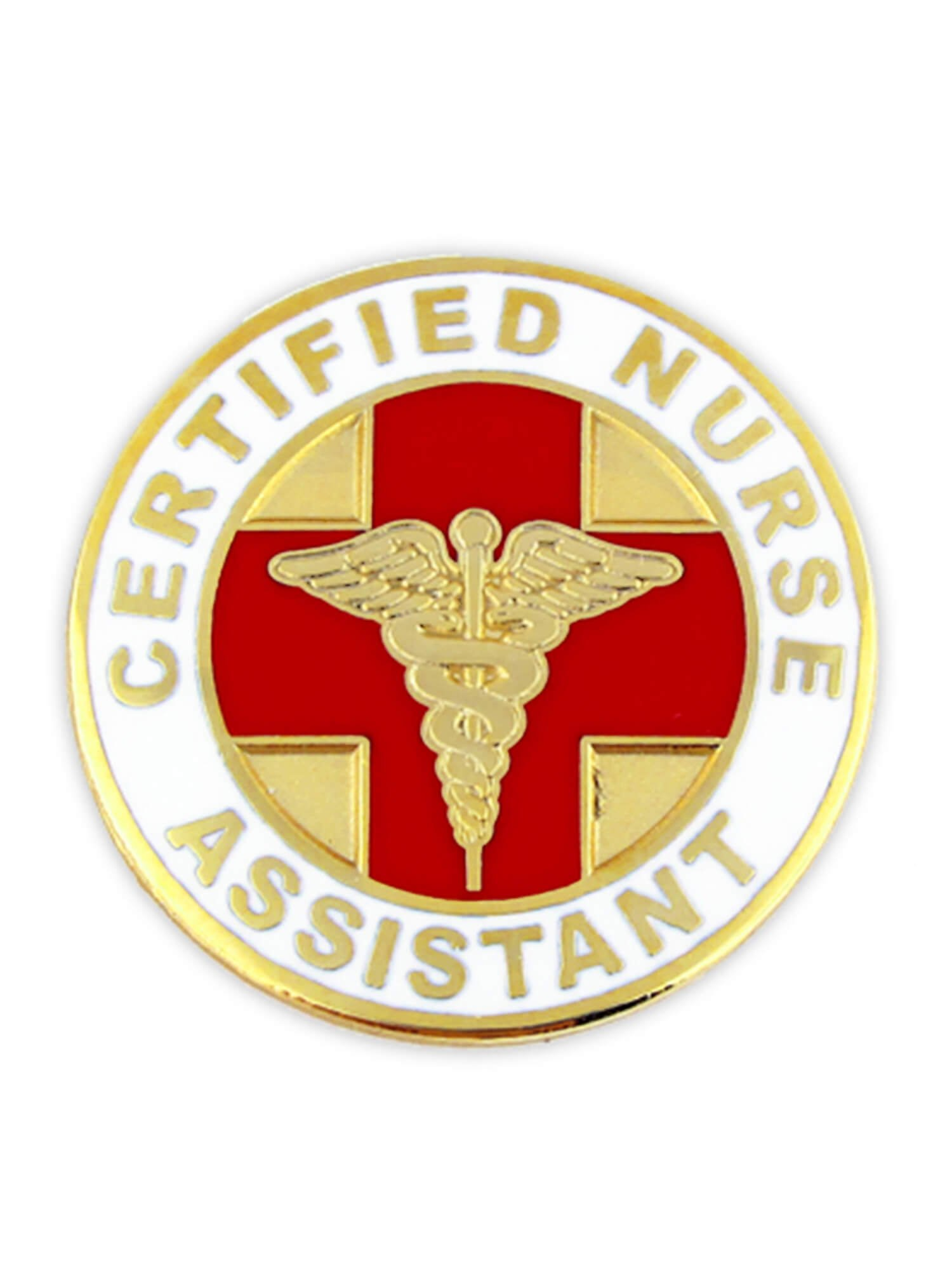 Certified Nurse Assistant CNA Lapel Pin, 25 Pack
