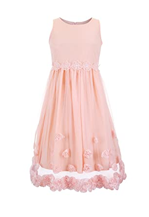 Ina lace rosette dress