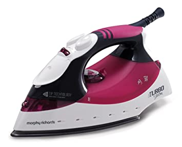 morphy richards 40668 turbosteam iron mulberry amazon co uk rh amazon co uk Morphy Richards Super Vapor Morphy Richards Glide Steam Irons