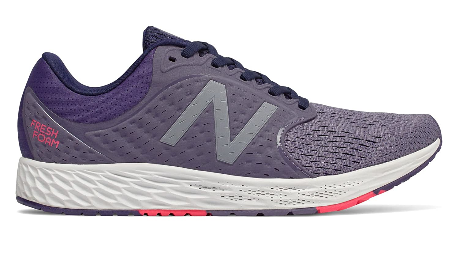 New Balance Women's Zante V4 Fresh Foam Running Shoe B075R7CFQ7 5 C/D US|Purple