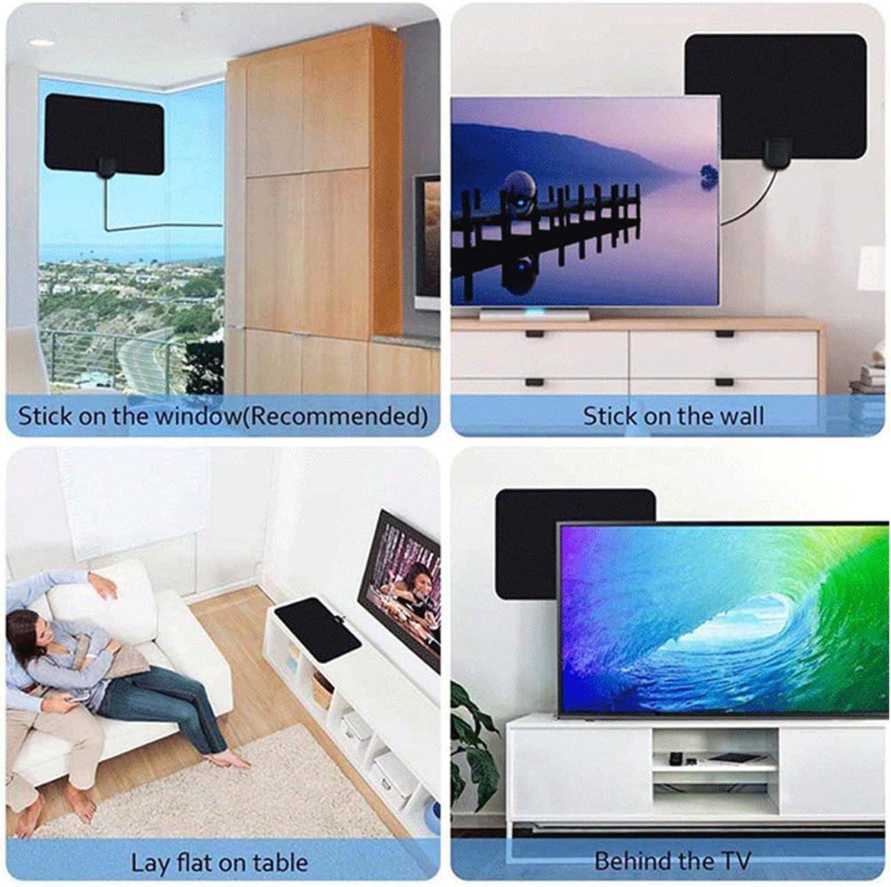 Ba30DEllylelly Antenna HDTV Antenna TV Digitale Interna HD Ty13 Ampio Piatto HD TV Gratuito Antenna TV Digitale Interna HD Alta qualit/à