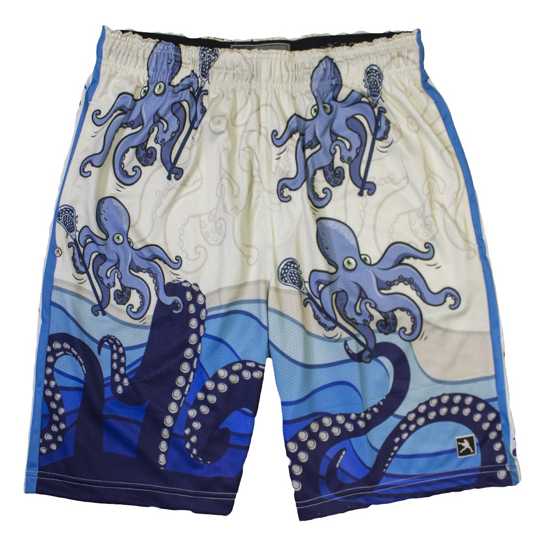 Octopus Lacrosse Shorts-Youth-XXSmall