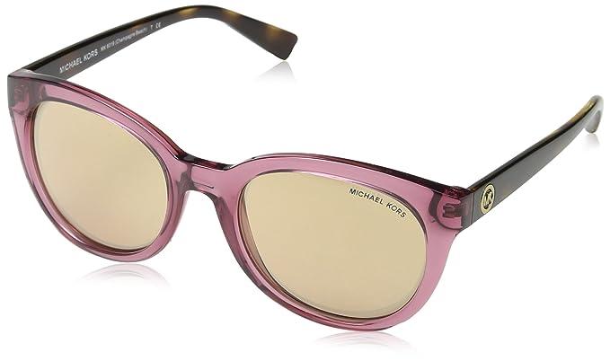 9ef6c0278b887 Michael Kors 6019 3053R1 Pink Tortoise Champagne Beach Cats Eyes Sunglasses  Len