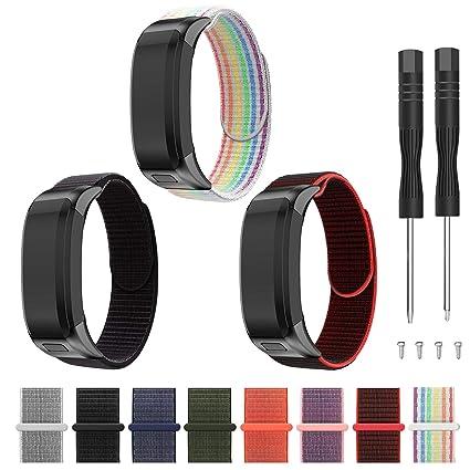 Replacement Leather Wristband Accessories Bracelet Replacement Strap for Garmin Vivosmart HR Tracker Younsea Compatible with Garmin Vivosmart HR Bands NOT Compatible Vivosmart HR+