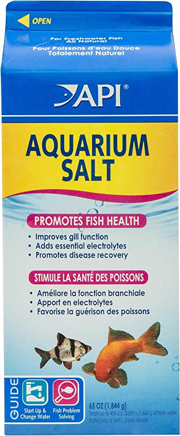 API Aquarium Salt 390oz (6 x 65oz)