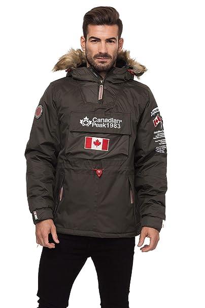 Canadian Peak Men's Coat: Amazon.co.uk: Clothing