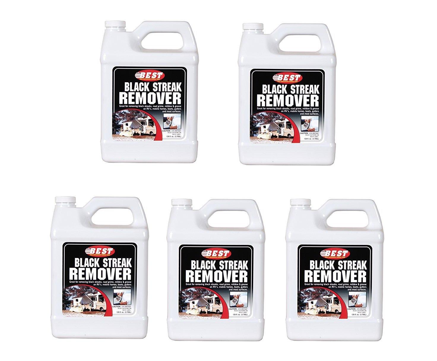 B.E.S.T.  50128 Black Streak Remover - 128 oz. (5)