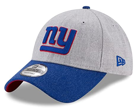 abe622432 Image Unavailable. Image not available for. Color  New York Giants New Era  9Forty NFL  quot Heather Crisp 2 quot  Adjustable Hat