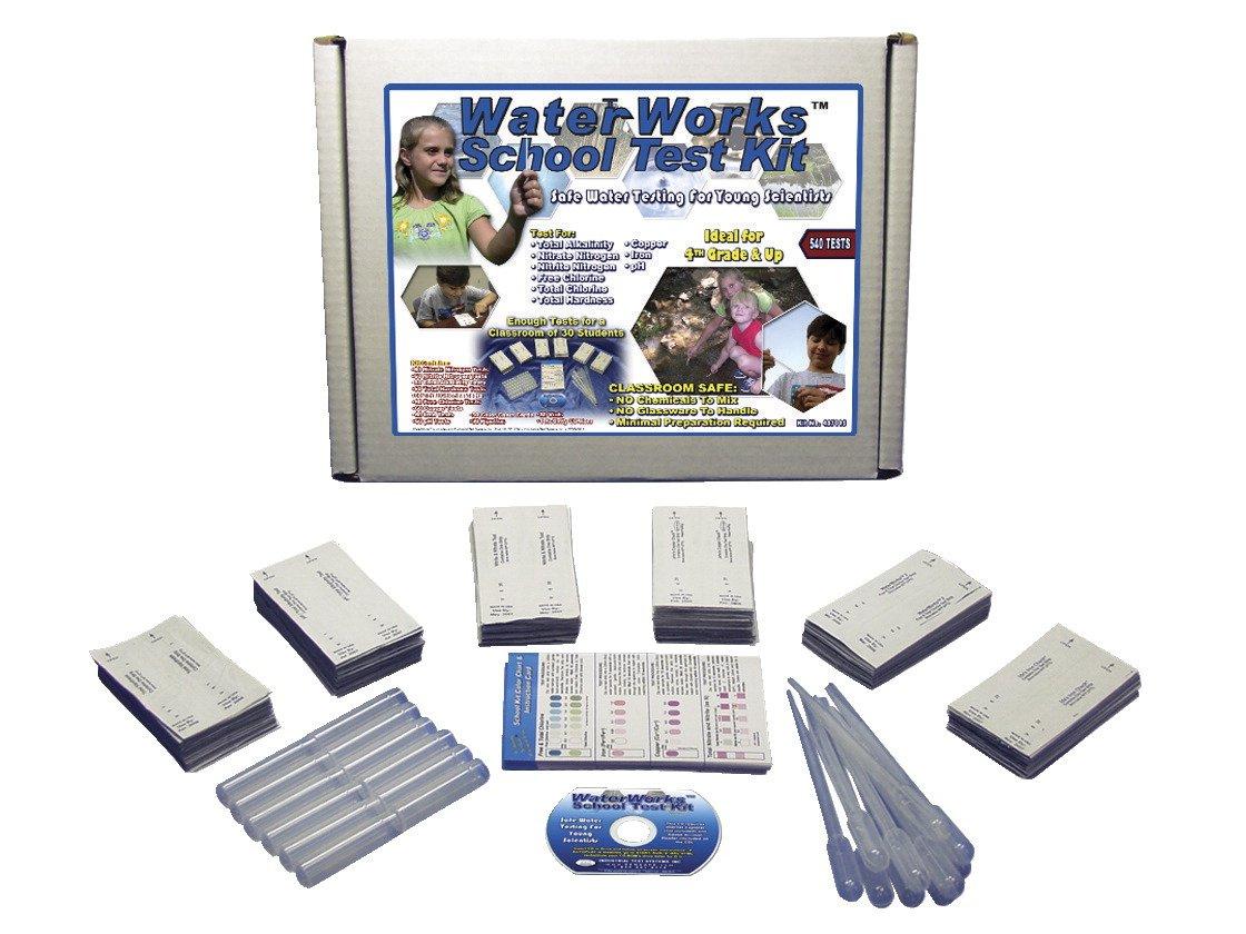 Frey Scientific WaterWorks SenSafe School Water Quality Test Kit by Frey Scientific