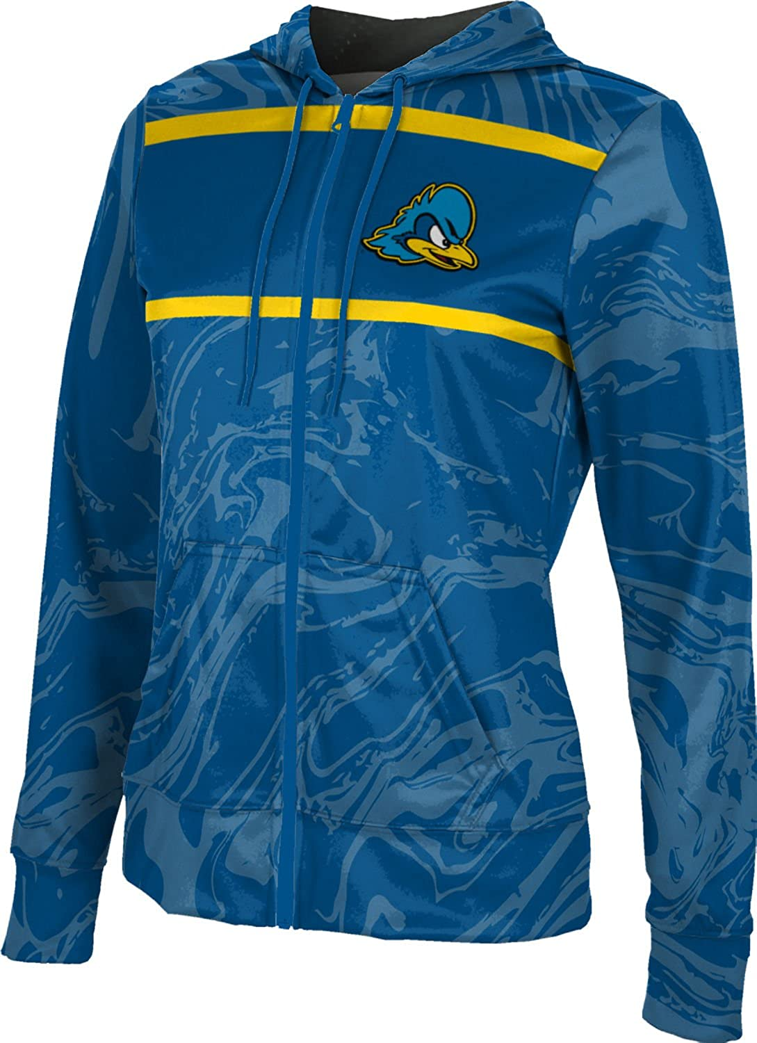 School Spirit Sweatshirt Ripple ProSphere University of Delaware Girls Zipper Hoodie