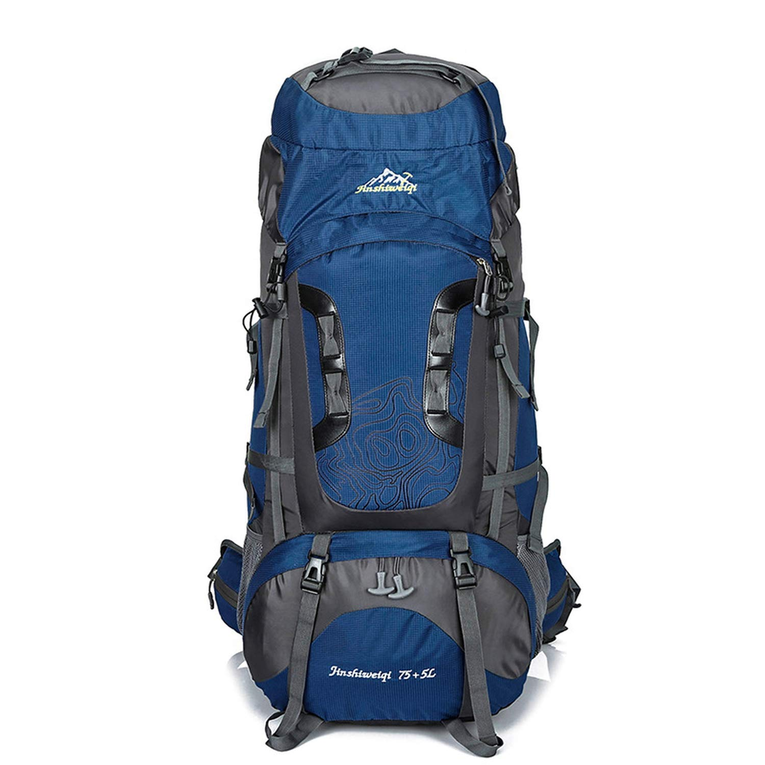 Amazon.com   OHAYOU Outdoor Hiking Backpacks 80L Waterproof Sports Bags  Travel Backpack Men Camping Bag Rucksack Outdoorer   Sports   Outdoors 97fc9d7bc3