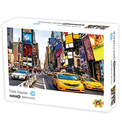 1000 Piece New York View Jigsaw Puzzles, Jigsaw Puzzle Kids Adult-New York View Jigsaw Puzzle, New York View, 43x30 cm: Toys & Games