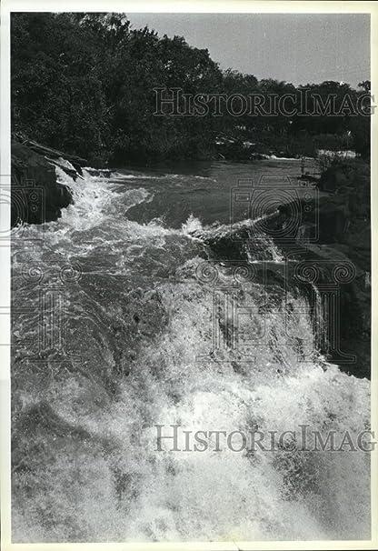 Amazon com: 1983 Press Photo Amazon River sweeps over a waterfall