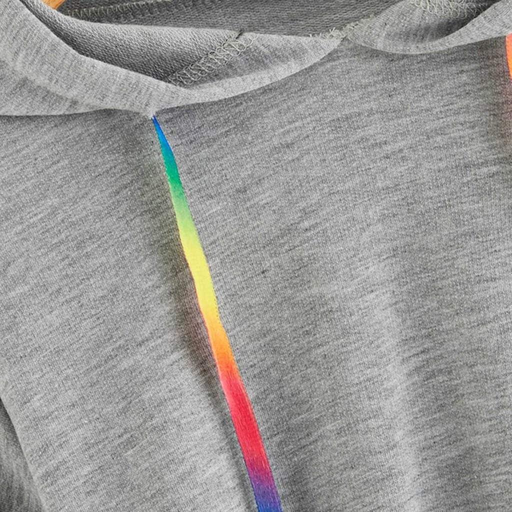 S-XL Felpe Donna Corte Tumblr Felpa Ragazza Invernale Magliette Ragazze Caldo Cardigan Donne Elegante Pullover Sweatshirt Invernali Abbigliamento Camicette Corta Casual Maglione//Multicolore
