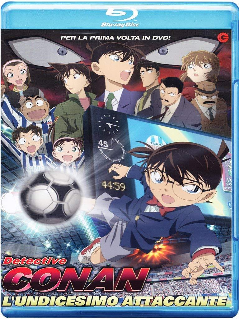 Detective Conan - LUndicesimo Attaccante Italia Blu-ray: Amazon.es: Cartoni Animati, Shizuno Kobun, Cartoni Animati: Cine y Series TV