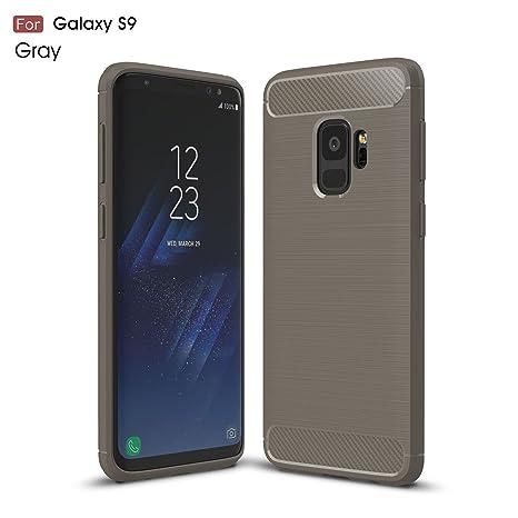 Samsung Galaxy S9 Funda,2ndSpring Carcasa Slim Soft Silicon ...
