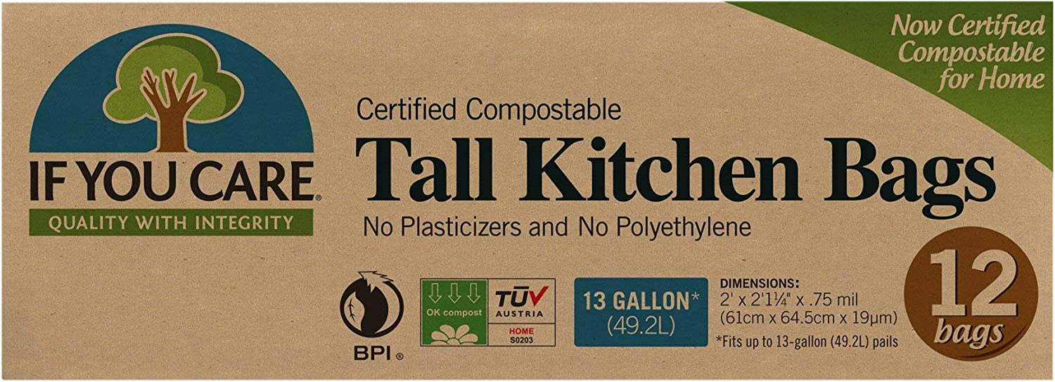 IF YOU CARE BAG KTCHN 13GAL TALL CMPSTBLE
