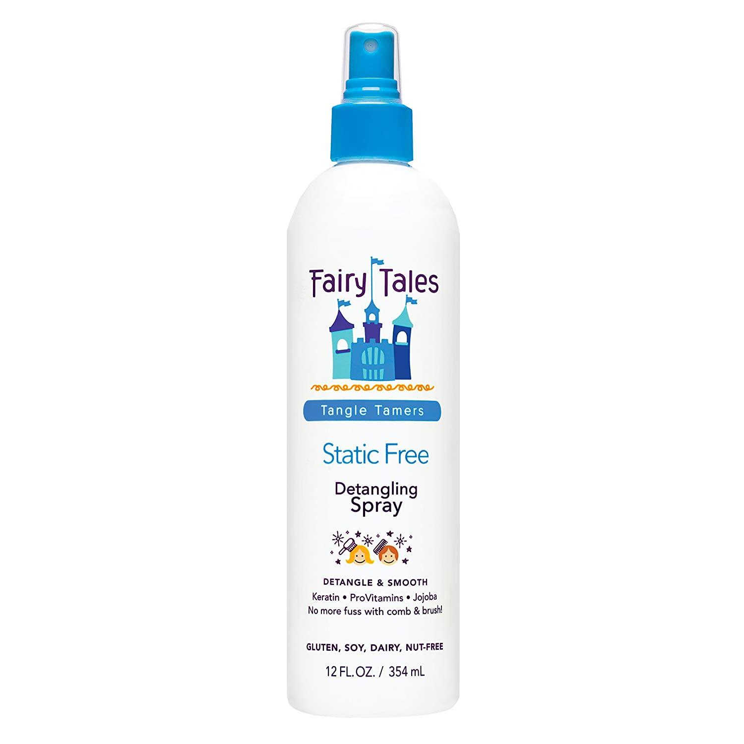 Fairy Tales Tangle Tamer Static Free Detangling Spray for Kids