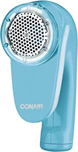 Conair Fabric Defuzzer - Shaver; Battery Operated; Blue