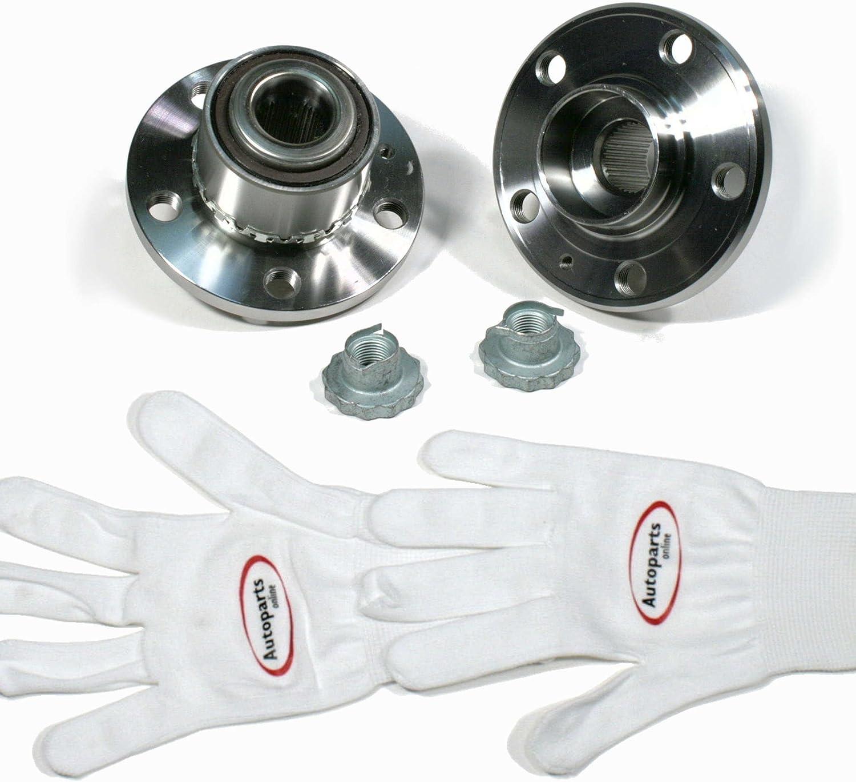 2 x Radlagersatz mit ABS-Sensor vorne Autoparts-Online Set 60005679 2 x Radnabe