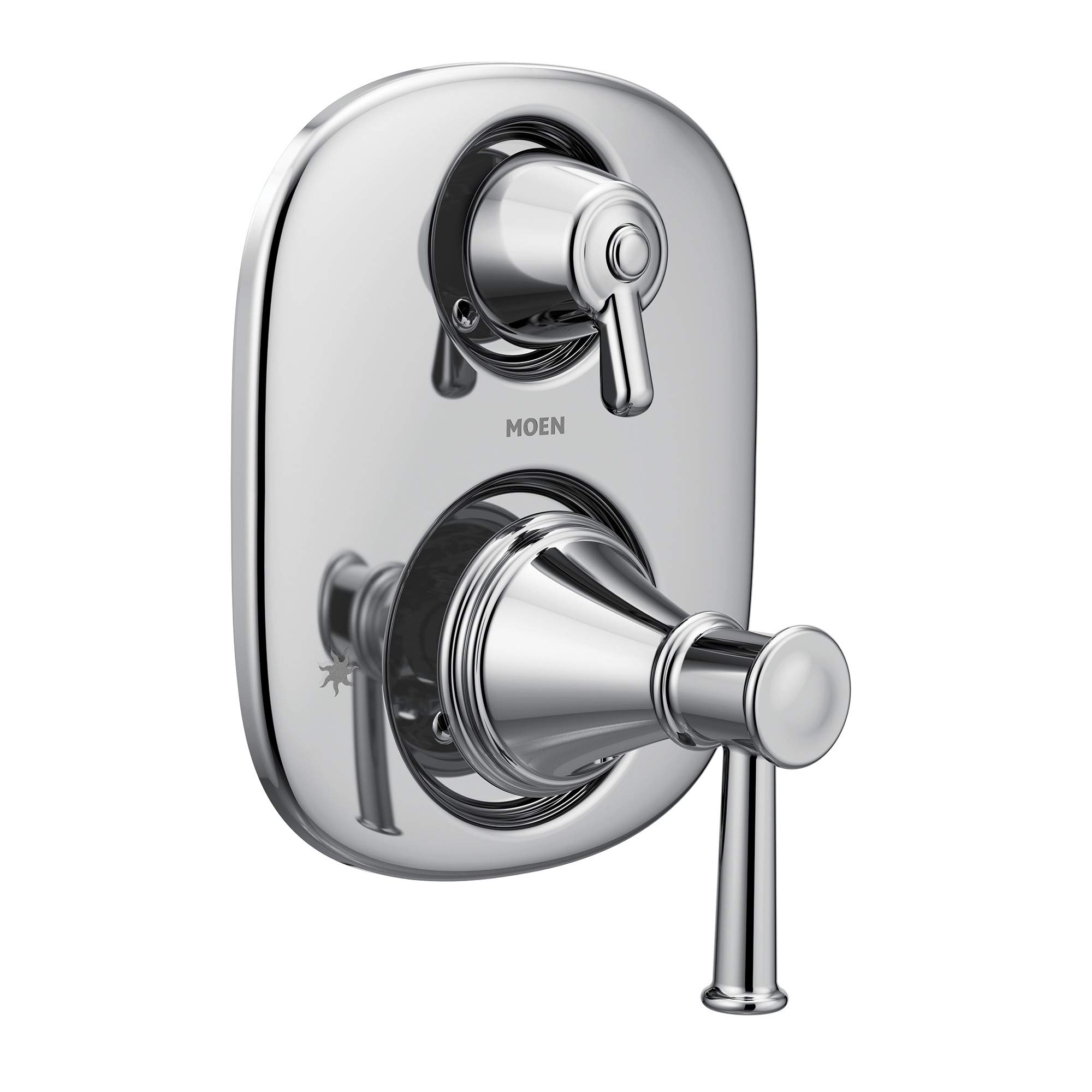 Moen T3322 Belfield Moentrol Transfer Valve Trim, Valve Required, Chrome by Moen