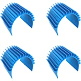 4Pack GINIHUIFISH Aluminum 540 550 Motor Electric Heat Sink Heatsink Cooling Fins for RC HSP HPI Wltoys Himoto Redcat Traxxas 1//16 1//18 Car
