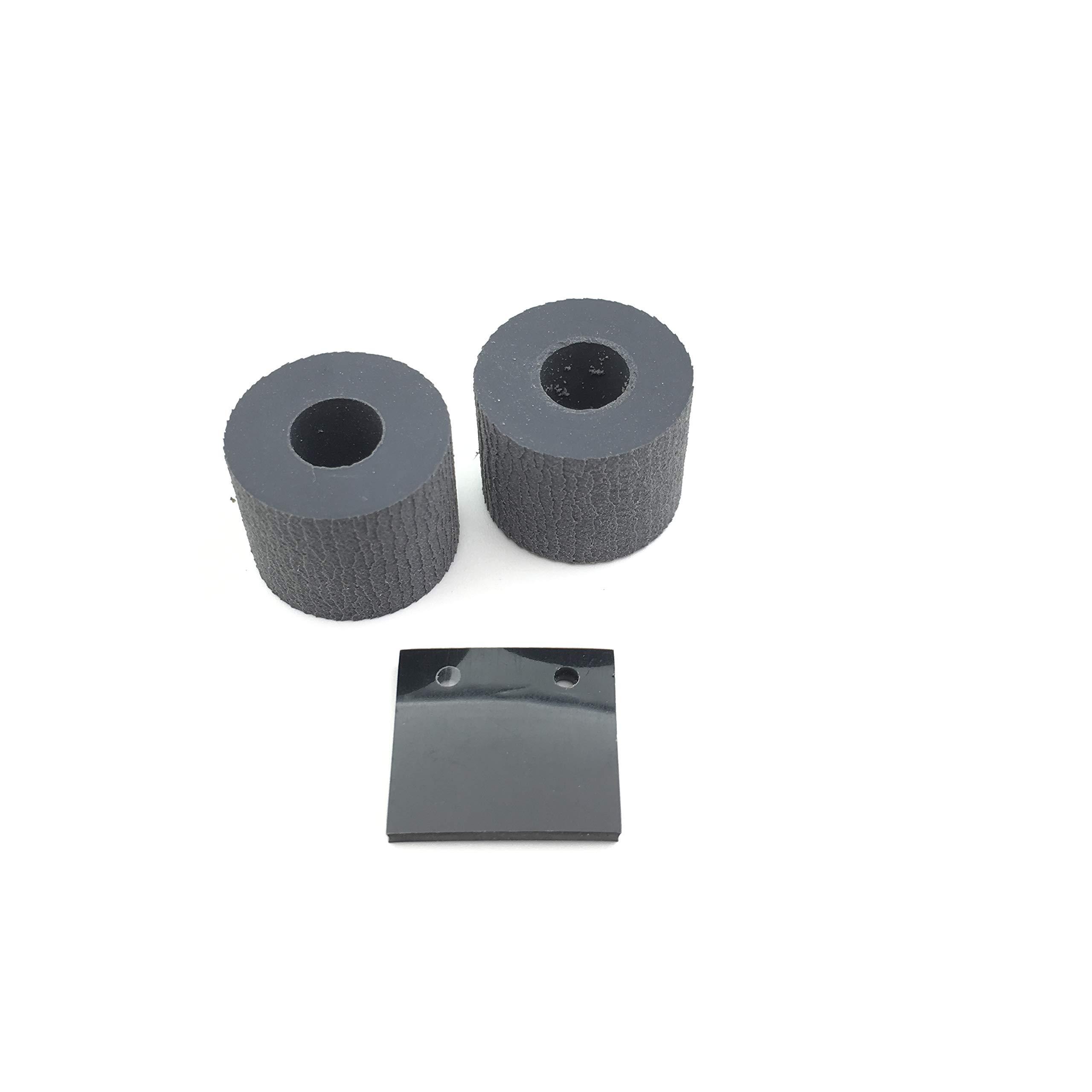 OKLILI PA03541-0001 PA03541-0002 Pick Pickup Roller Tire Separation Pad for Fujitsu ScanSnap S300 S300M S1300 S1300i
