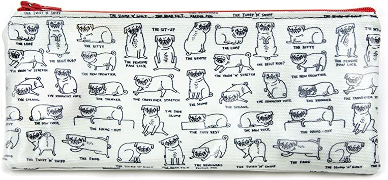Ohh Deer Pug Lover Pencil Case Gemma Cornell Pug Lover Stocking Stuffer New